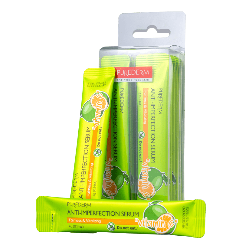 Purederm Anti-Imperfection Vitamina C - Sérum Clareador 4g