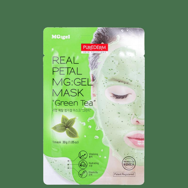 Purederm Green Tea - Máscara Facial 30g