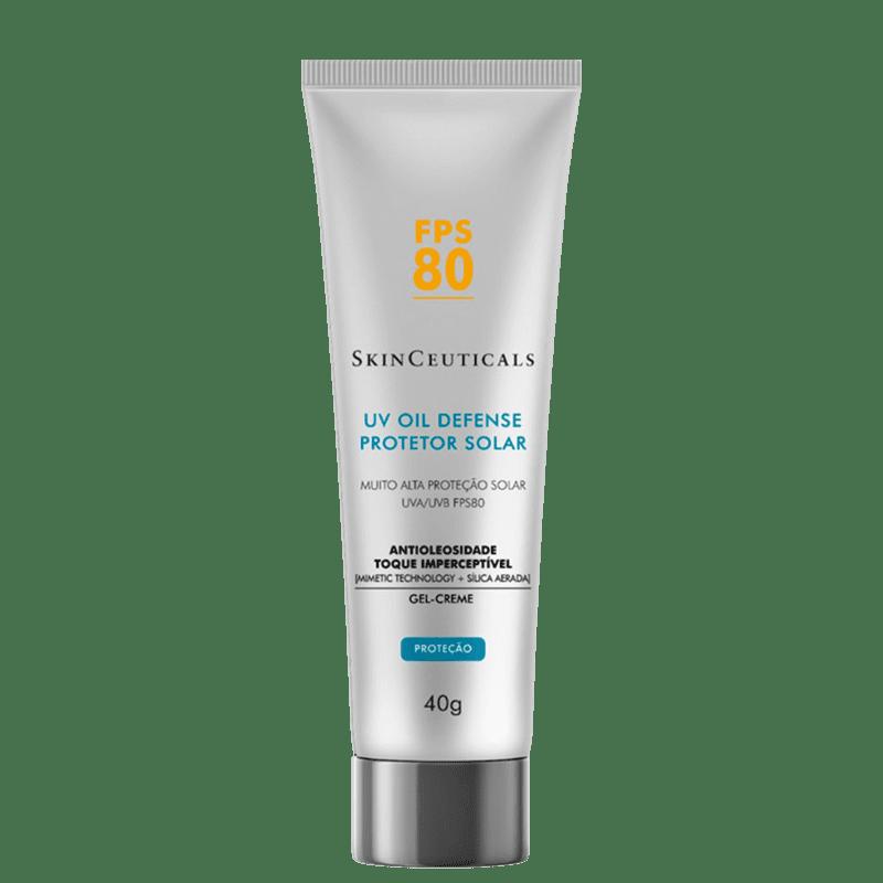SkinCeuticals UV Oil Defense FPS 80 - Protetor Solar Facial 40g