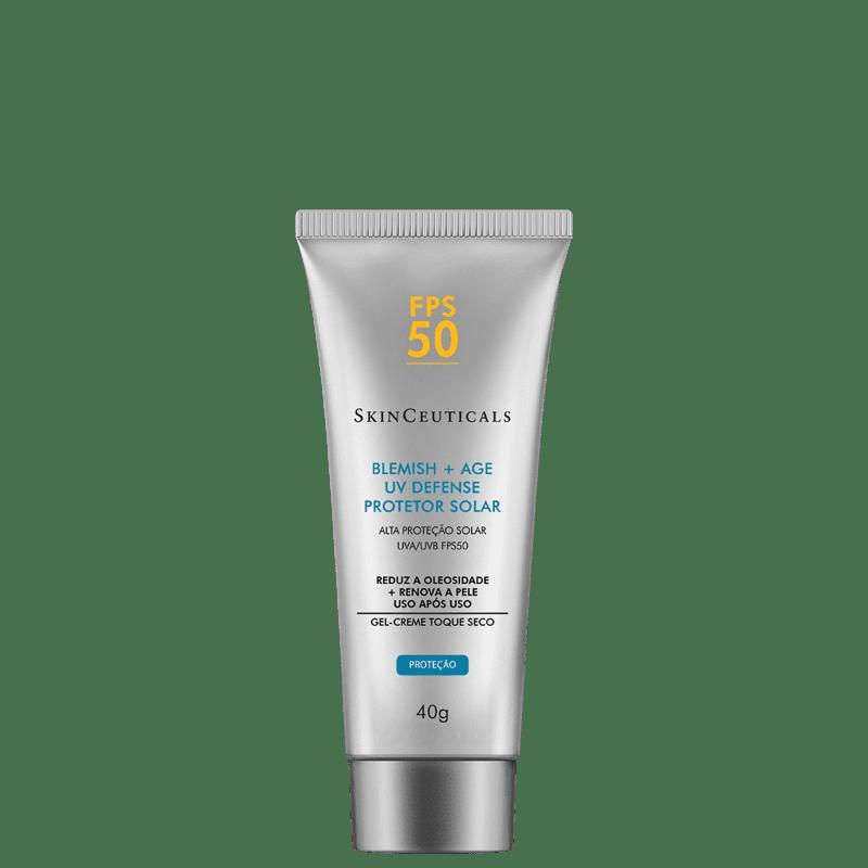 SkinCeuticals Blemish + Age UV Defense FPS 50 - Protetor Solar Facial 40g
