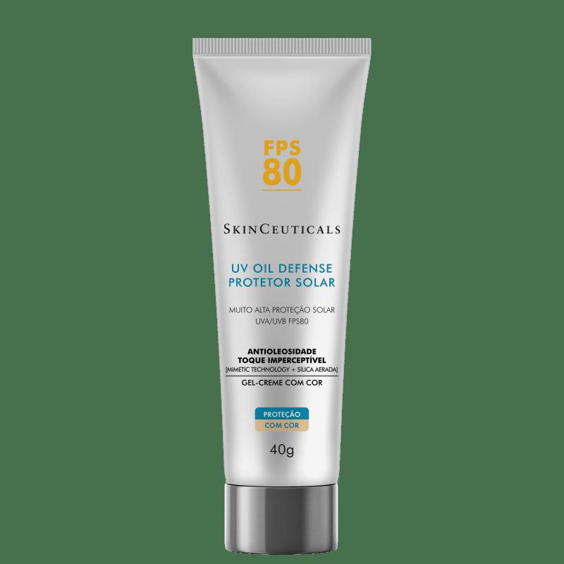 SkinCeuticals UV Oil Defense FPS 80 - Protetor Solar com Cor 40g