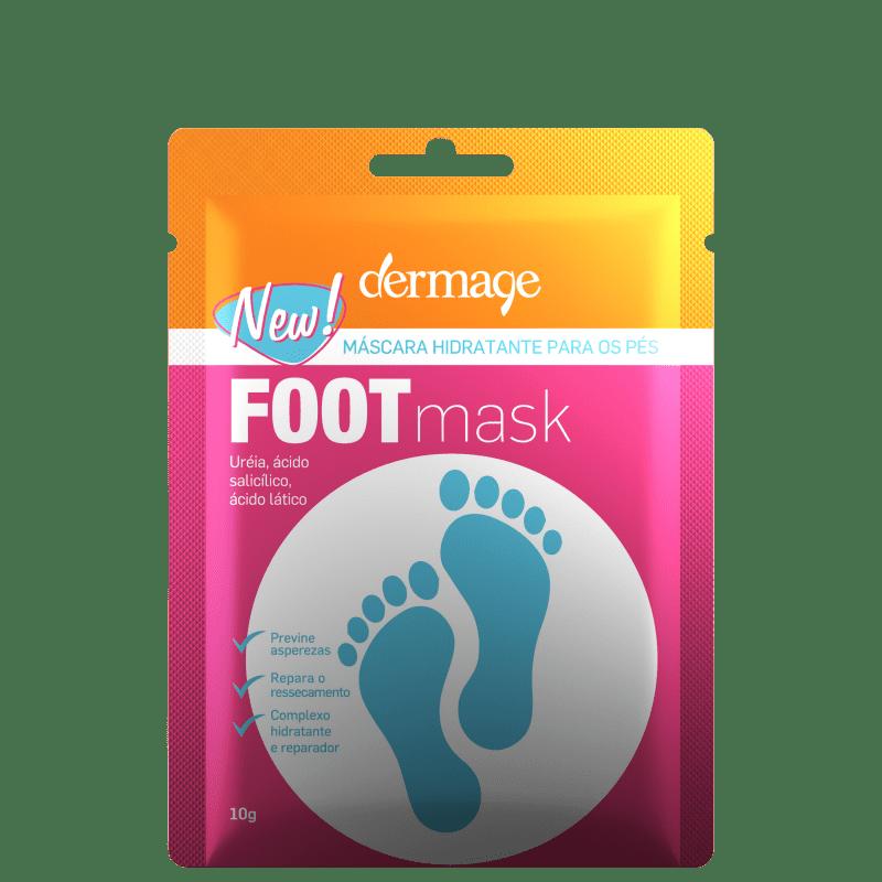Dermage Foot Hidratante - Máscara para os Pés 10g