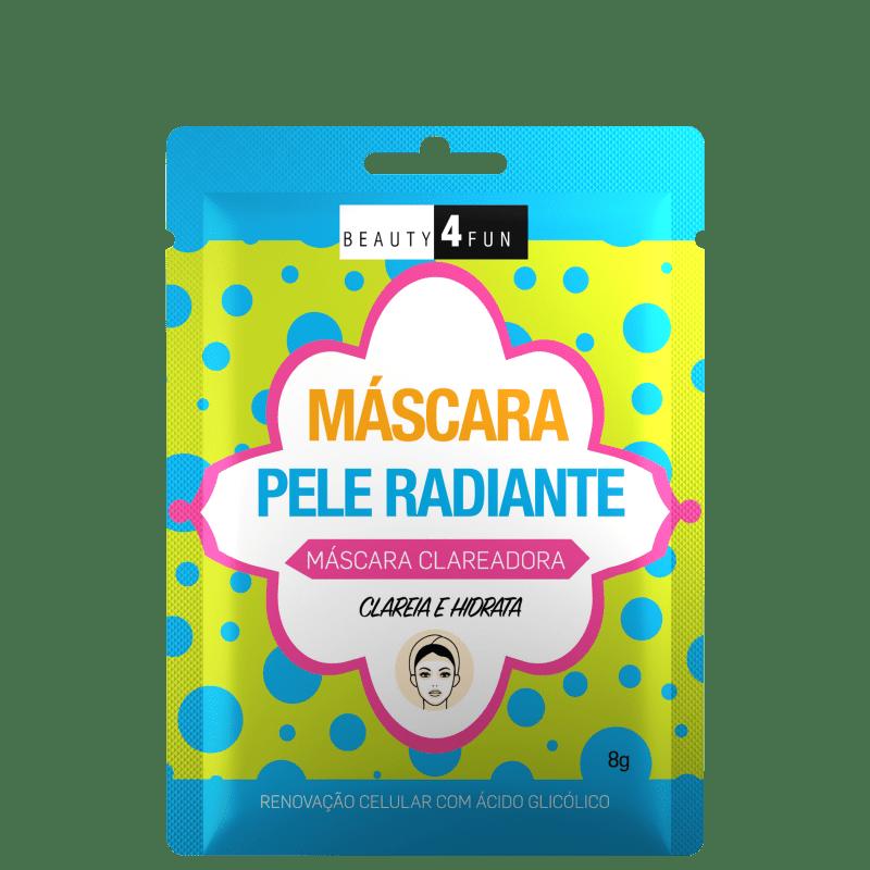 Beauty 4 Fun Pele Radiante - Máscara Facial 8g