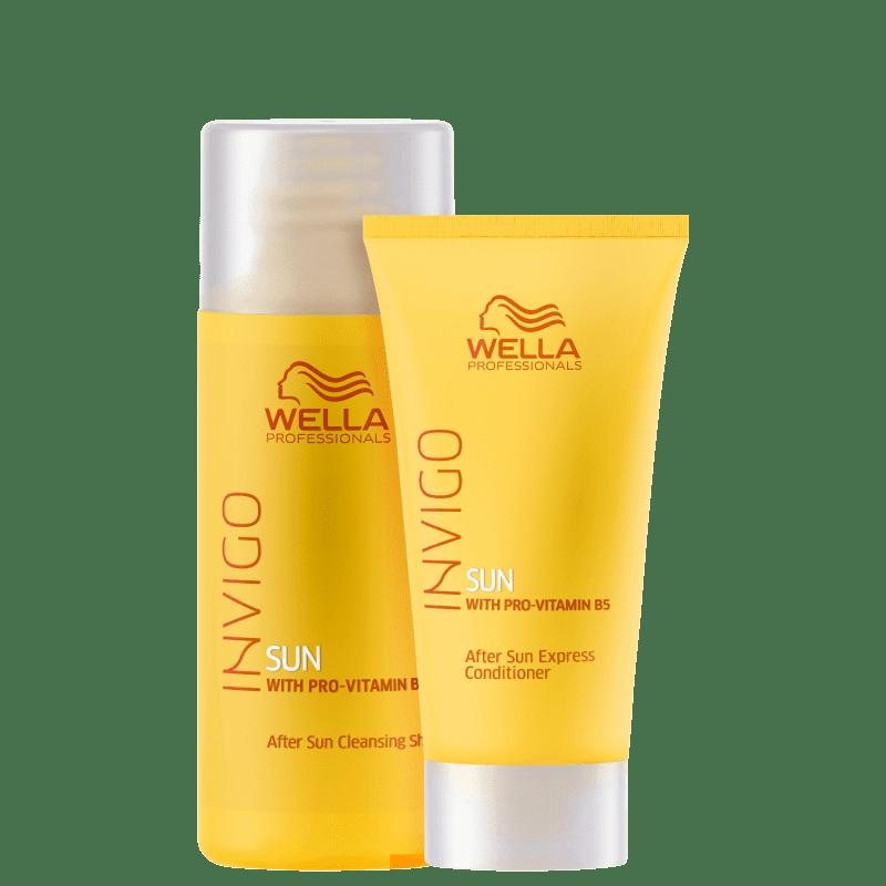 Kit Wella Professionals Invigo Sun Travel (2 Produtos)