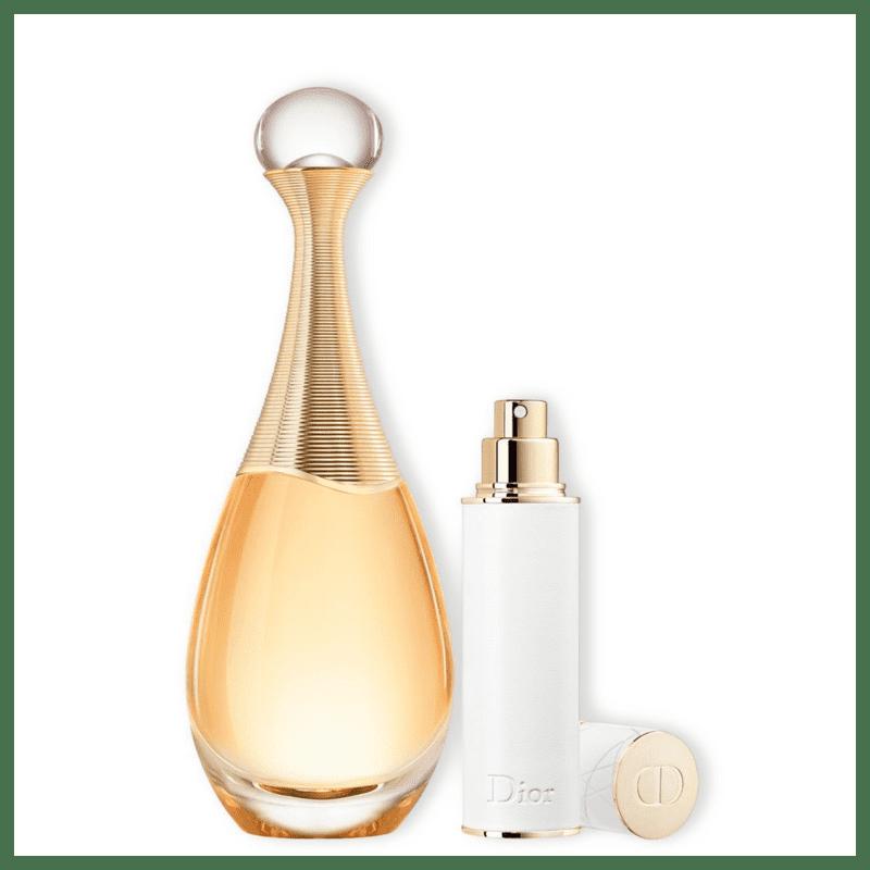 Conjunto J'adore Dior Feminino - Eau de Parfum 100ml + Travel Size 10ml