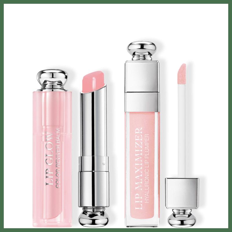 Kit Dior Maximizer Lip Glow Duo 001 Pink (2 Produtos)