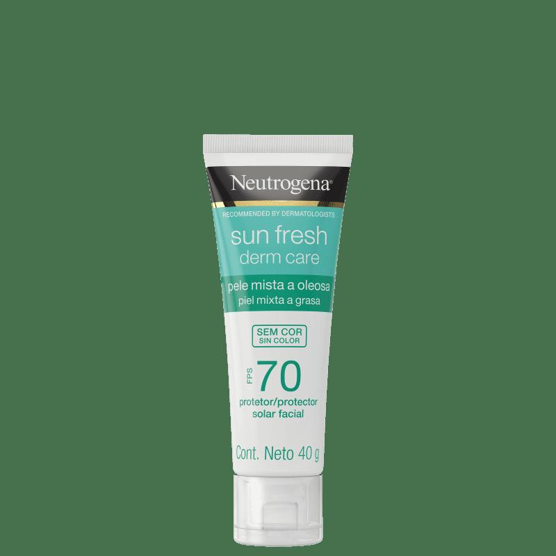 Neutrogena Sun Fresh Derm Care FPS 70 - Protetor Solar Facial 40g