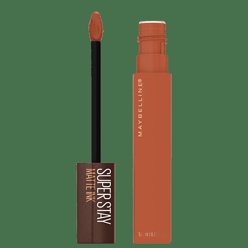 Maybelline Superstay Matte Ink Coffee Edition Caramel Collector - Batom Líquido 5ml