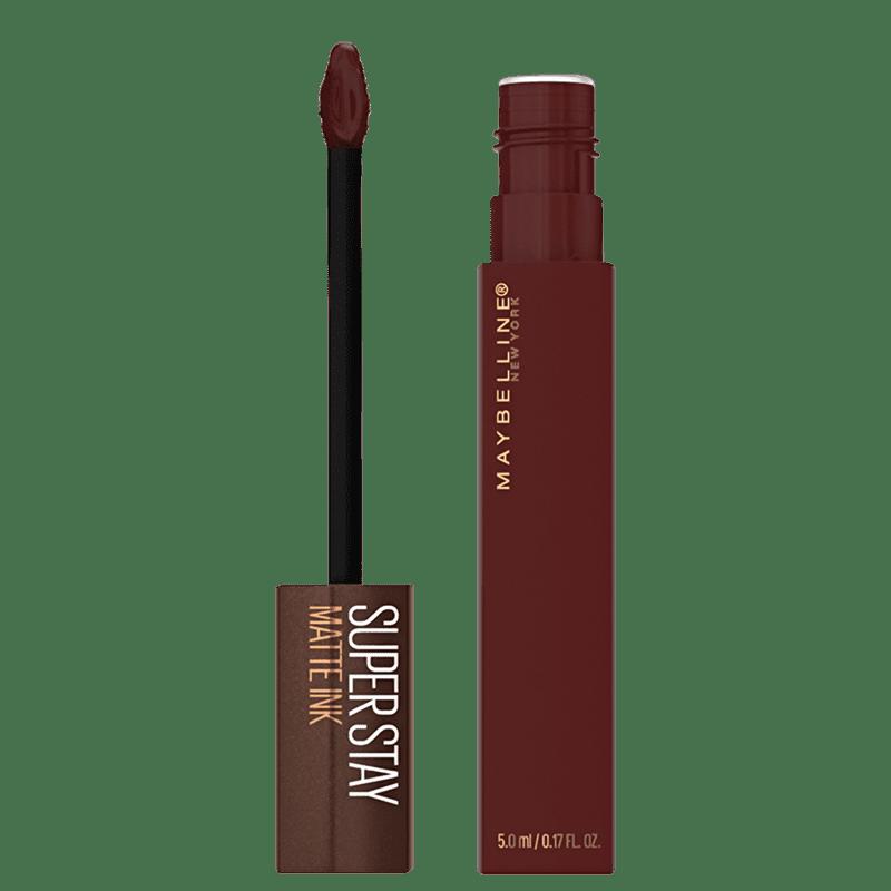 Maybelline Superstay Matte Ink Coffee Edition Mocha Inventor - Batom Líquido 5ml