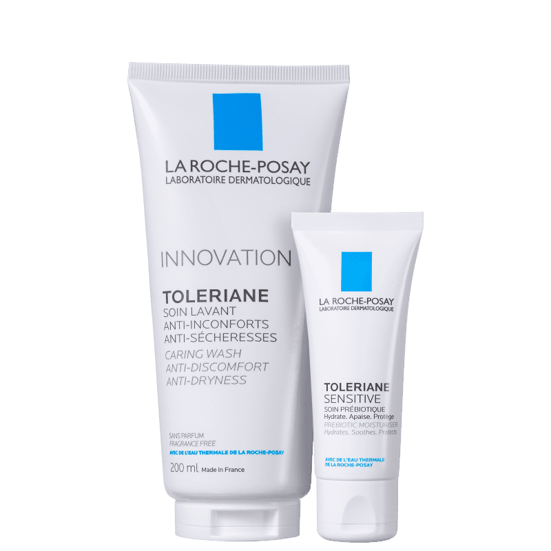 Kit La Roche-Posay Toleriane Cuidado Facial Duo (2 Produtos)