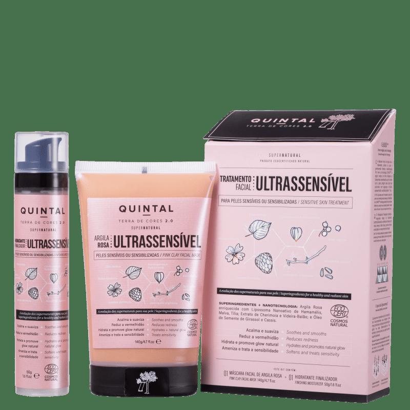 Kit Quintal Tratamento Facial Ultrassensível (2 Produtos)