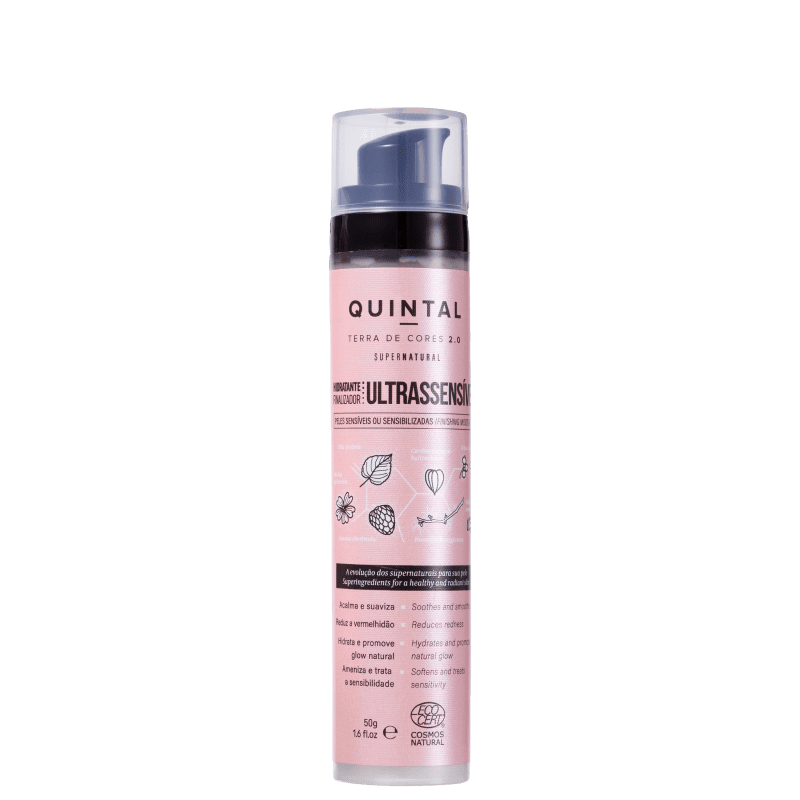 Quintal Finalizador Ultrassensível - Hidratante Facial 50g