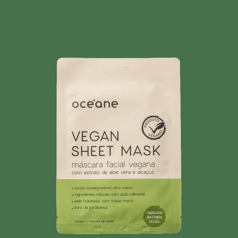 Océane Vegan Sheet - Máscara Facial (1 Unidade)