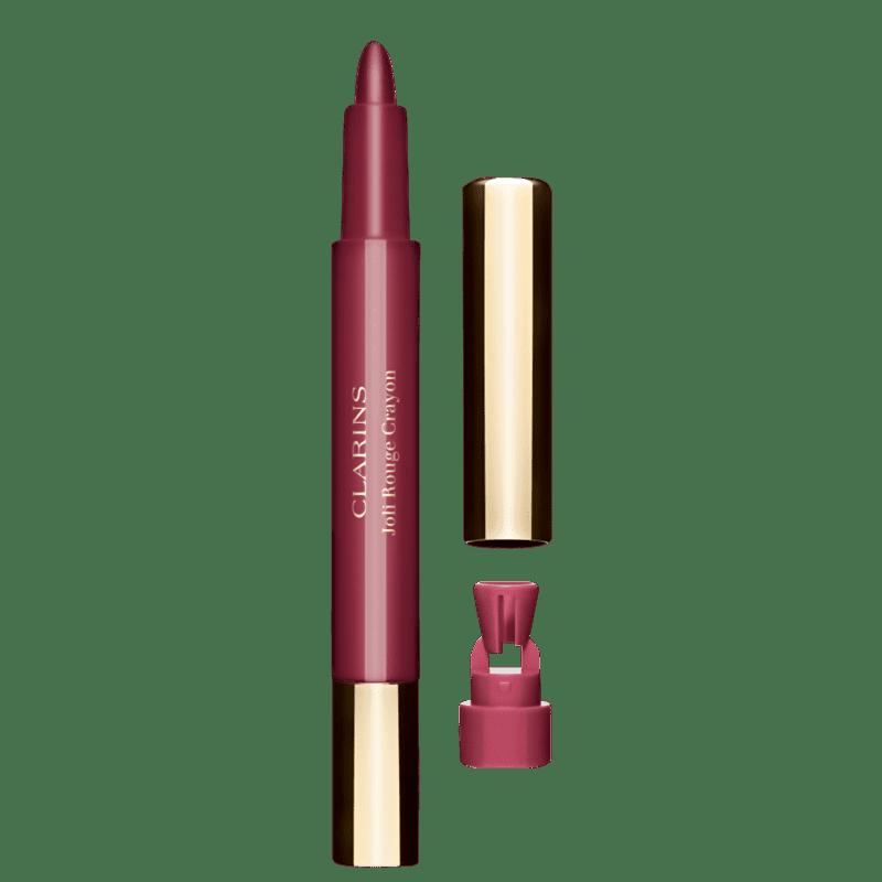 Clarins Joli Rouge Crayon Soft Plum - Lápis de Boca 0,6g