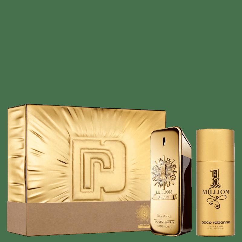 Conjunto 1 Million Parfum Paco Rabanne Masculino - Eau de Parfum 100ml + Desodorante 150ml