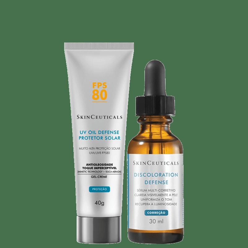 Kit SkinCeuticals Discoloration Defense FPS 80 (2 Produtos)