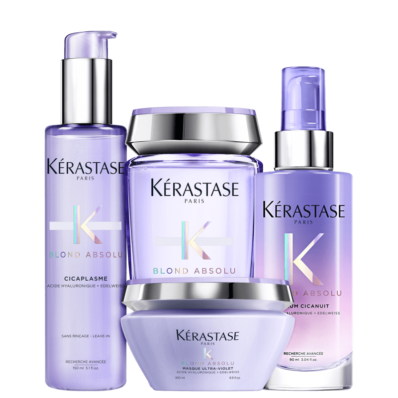 Kit Kérastase Highlighted Blonde Completo (4 Produtos)
