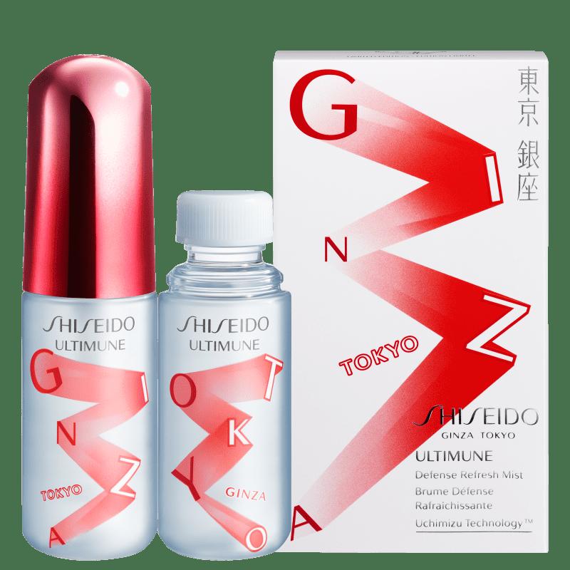 Bruma Hidratante Shiseido Ultimune Defense Refresh Mist 2x30ml