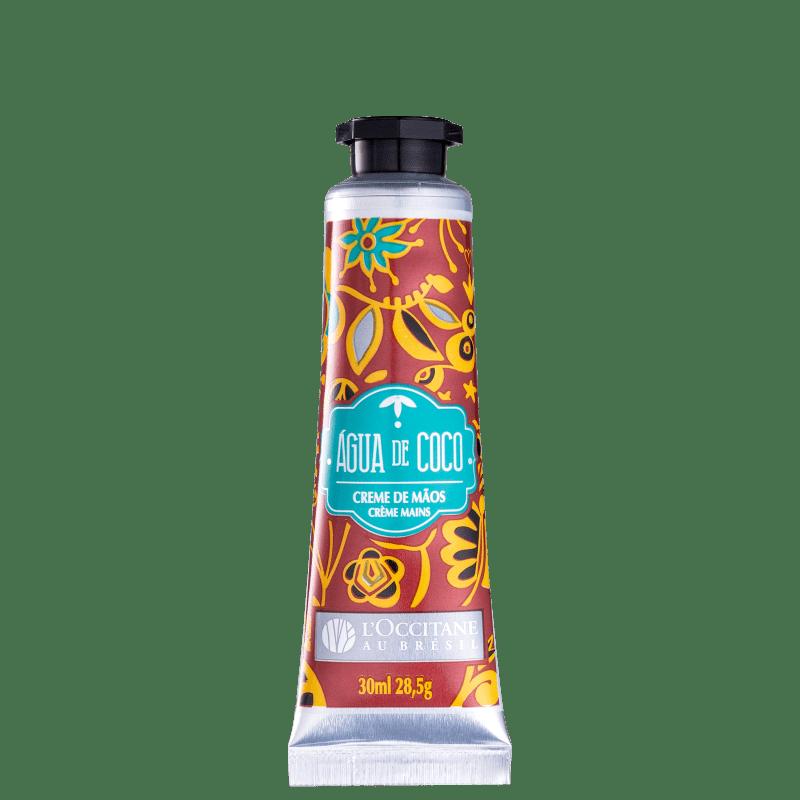 L'Occitane au Brésil Água de Coco - Creme Hidratante para as Mãos 30ml