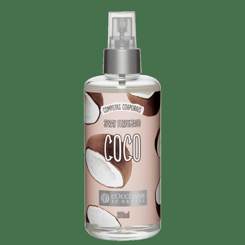 L'Occitane au Brésil Compotas Corporais Coco - Body Spray Feminino 200ml