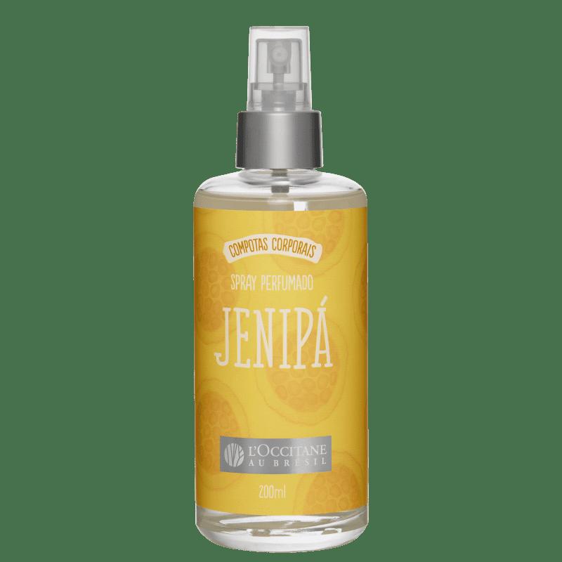 L'Occitane au Brésil Compotas Corporais Jenipá - Body Spray Feminino 200ml
