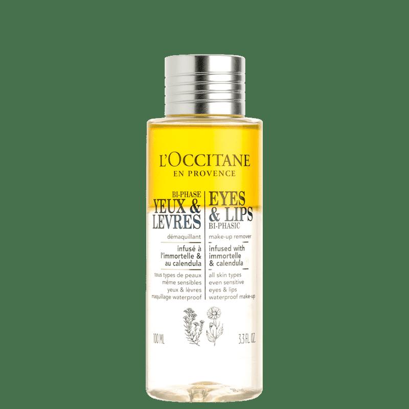 L'Occitane en Provence Immortelle e Calêndula - Demaquilante Bifásico 100ml