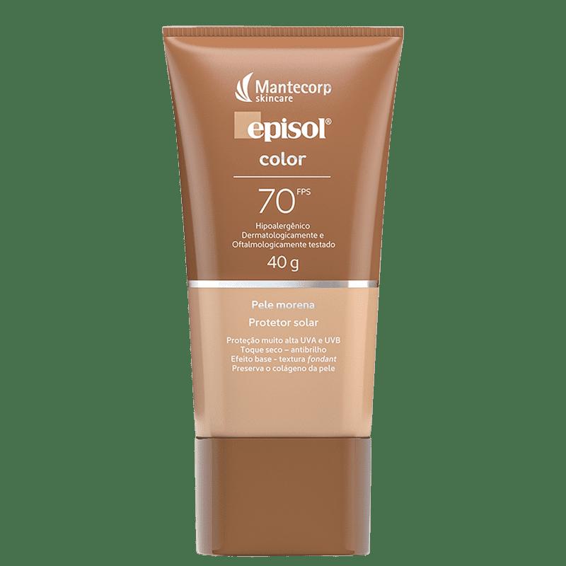 Mantecorp Episol Color FPS 70 Pele Morena - Protetor Solar com Cor 40g