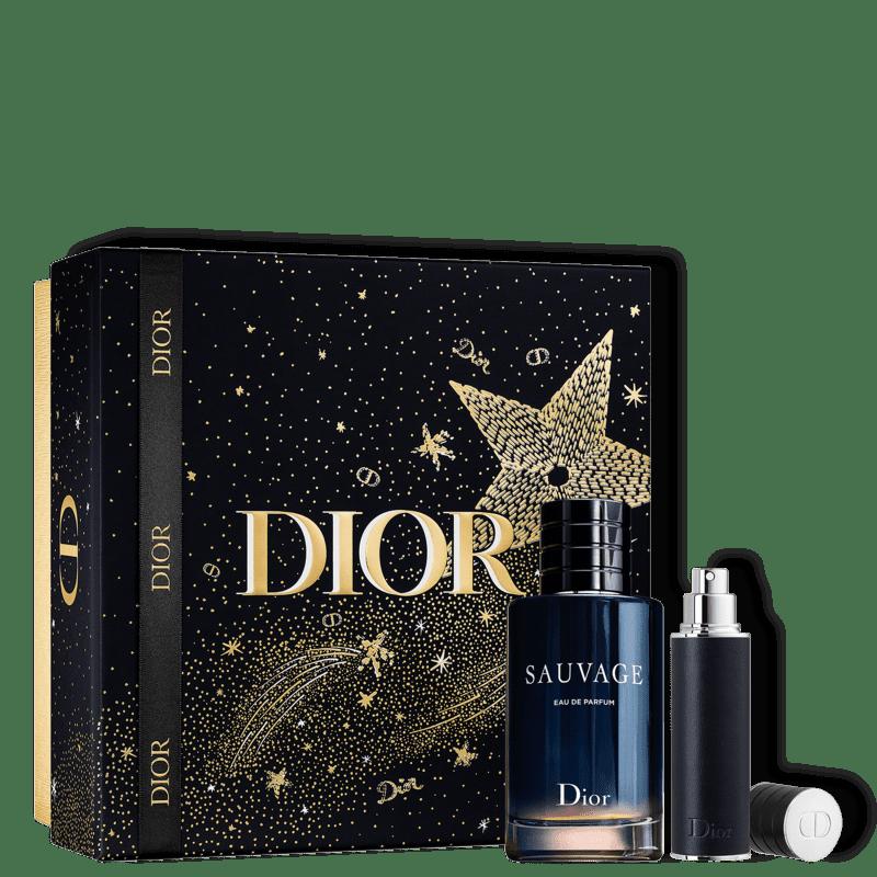 Conjunto Sauvage Dior Special Masculino - Eau de Parfum 100ml + Travel Size 10ml