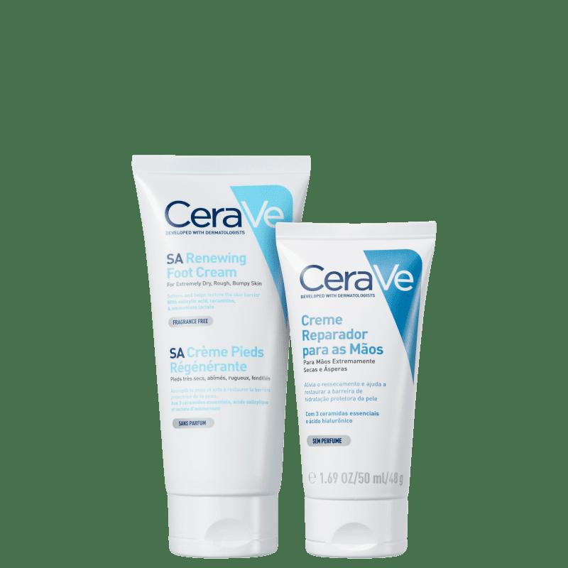 Kit CeraVe Pés & Mãos (2 Produtos)