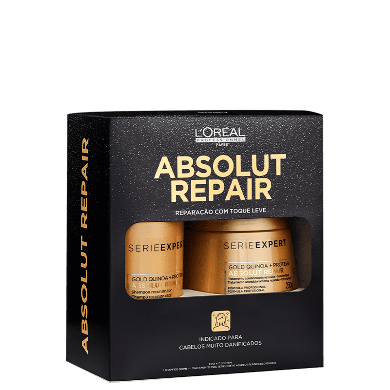Kit L'Oréal Professionnel Absolut Repair Gold Quinoa + Protein Box
