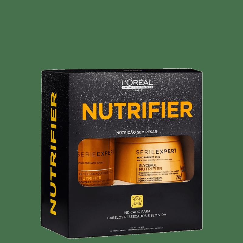 Kit L'Oréal Professionnel Nutrifier Box (2 Produtos)