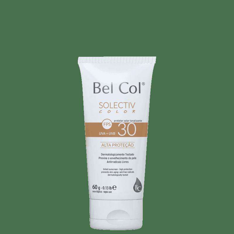 Bel Col Solectiv Color FPS 30 Areia - Protetor Solar com Cor 60g