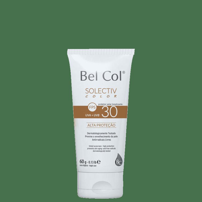 Bel Col Solectiv Color FPS 30 Bege - Protetor Solar com Cor 60g