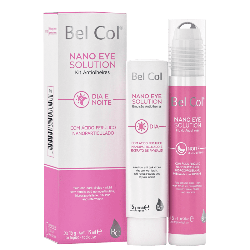 Kit Bel Col Nano Eye Solution (2 Produtos)