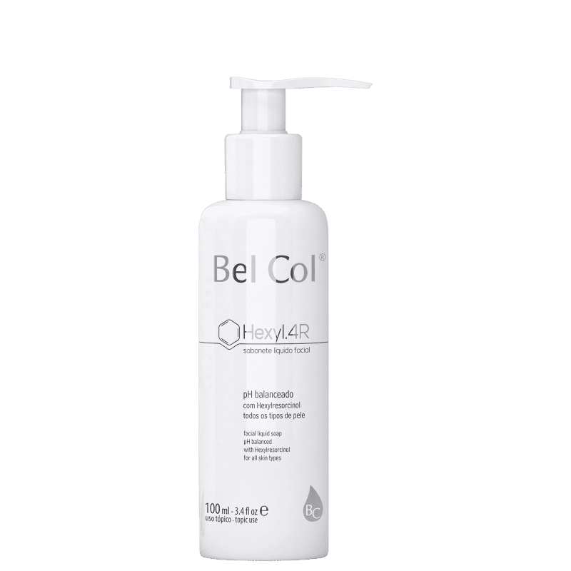 Bel Col Hexyl.4R - Sabonete Líquido Facial 100ml