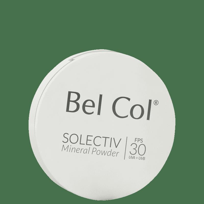Bel Col Solectiv Mineral Pó Compacto FPS 30 Areia - Protetor Solar com Cor 12g