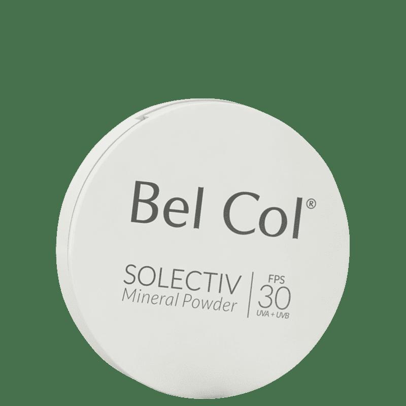Bel Col Solectiv Mineral Pó Compacto FPS 30 Bege - Protetor Solar com Cor 12g