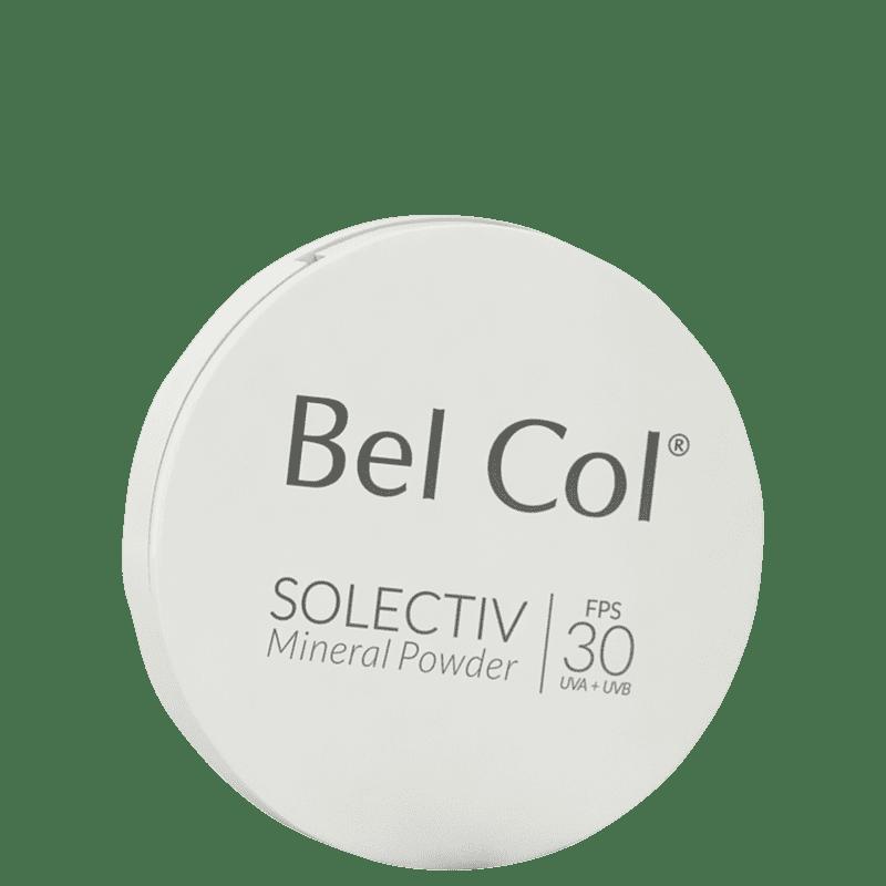 Bel Col Solectiv Mineral Pó Compacto FPS 30 Marfim - Protetor Solar com Cor 12g