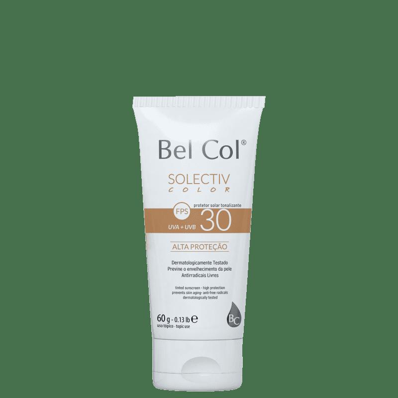 Bel Col Solectiv Color FPS 30 Areia Intenso - Protetor Solar com Cor 60g