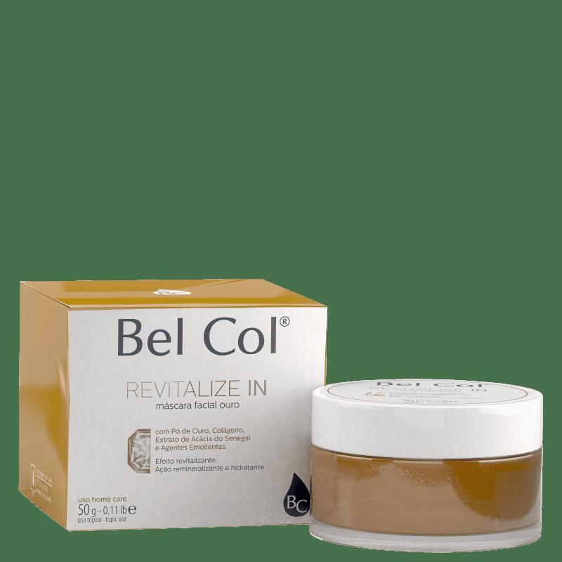 Bel Col Revitalize In Ouro- Máscara Facial 50g