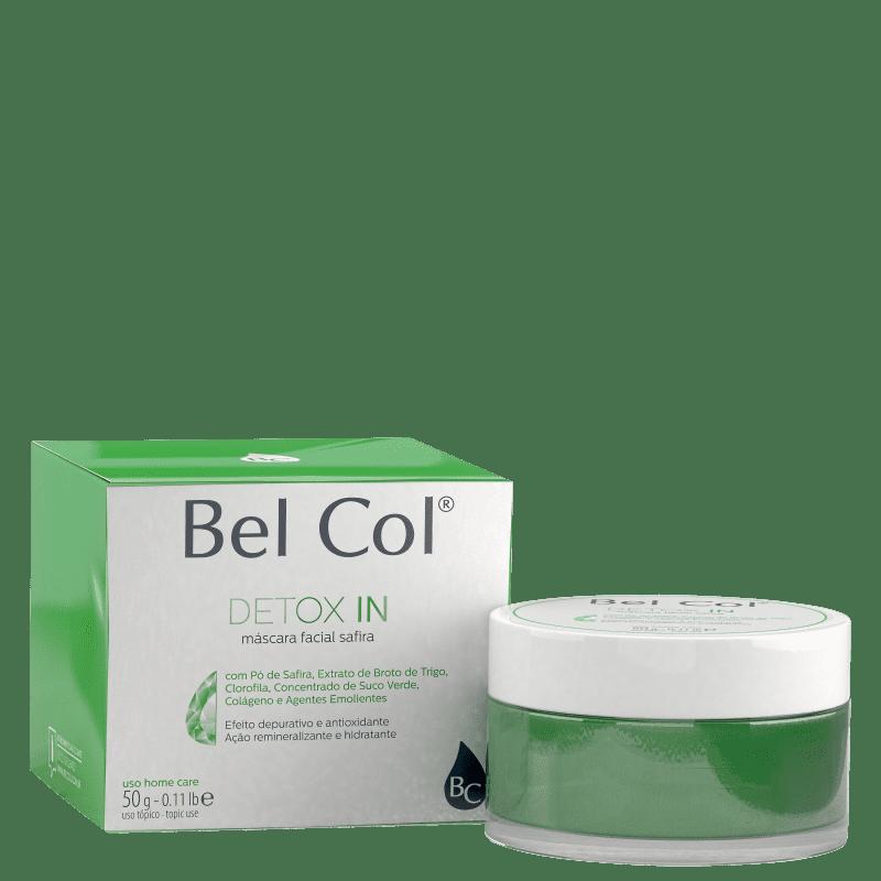 Bel Col Detox In Safira - Máscara Facial 50g