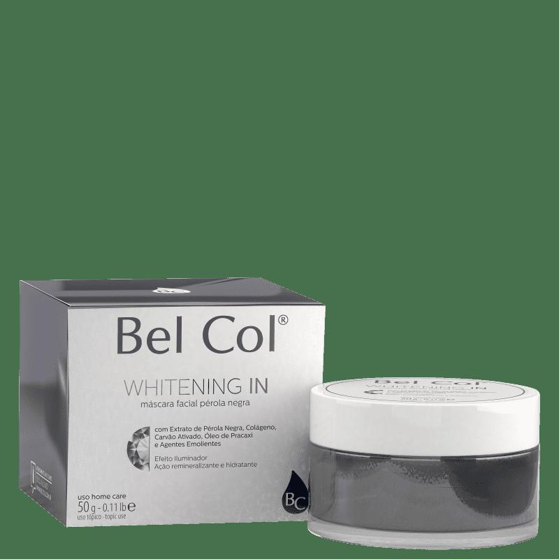 Bel Col Whitening In Pérola Negra - Máscara Facial 50g