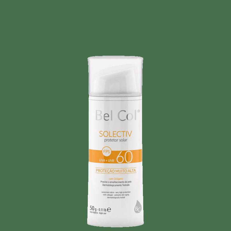 Bel Col Solectiv Hidratante FPS 60 - Protetor Solar Facial 50g