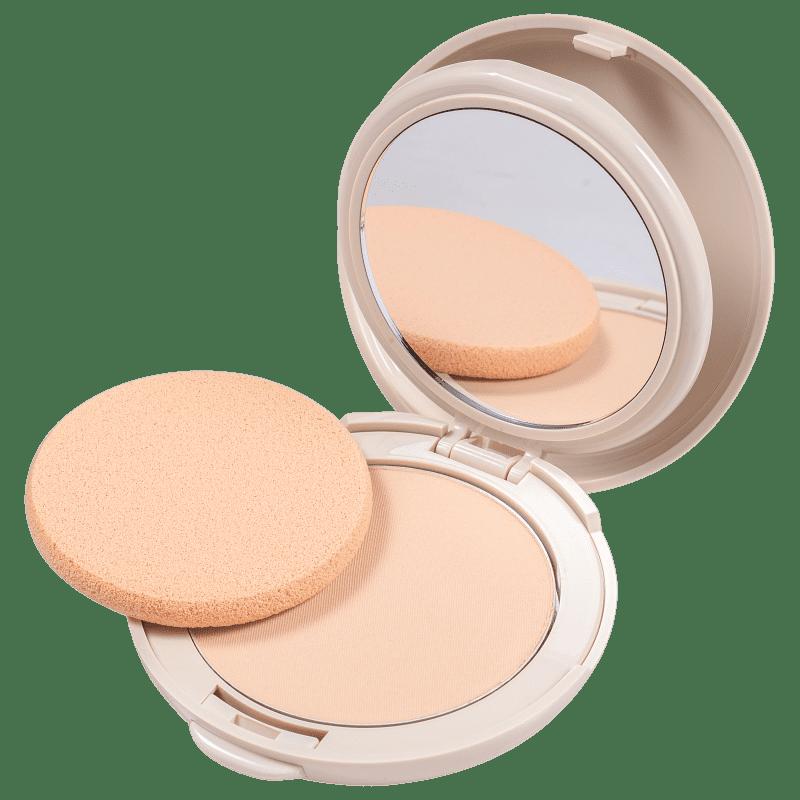 Adcos Fotoproteção Diária com Ácido Hialurônico FPS 50 Peach - Pó Compacto 11g