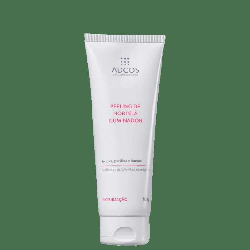 Adcos Clean Solution Peeling de Hortelã Iluminador - Esfoliante Facial 100g
