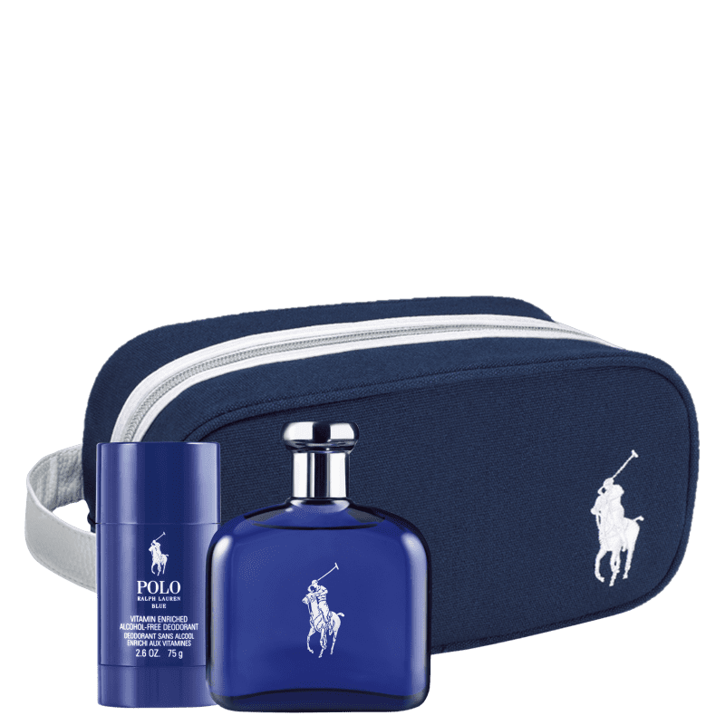 Conjunto Polo Blue Ralph Lauren Masculino - Eau de Toilette 125ml + Desodorante 75g