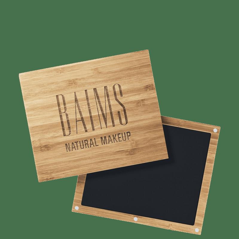 BAIMS Bamboo Palette - Estojo para Maquiagem