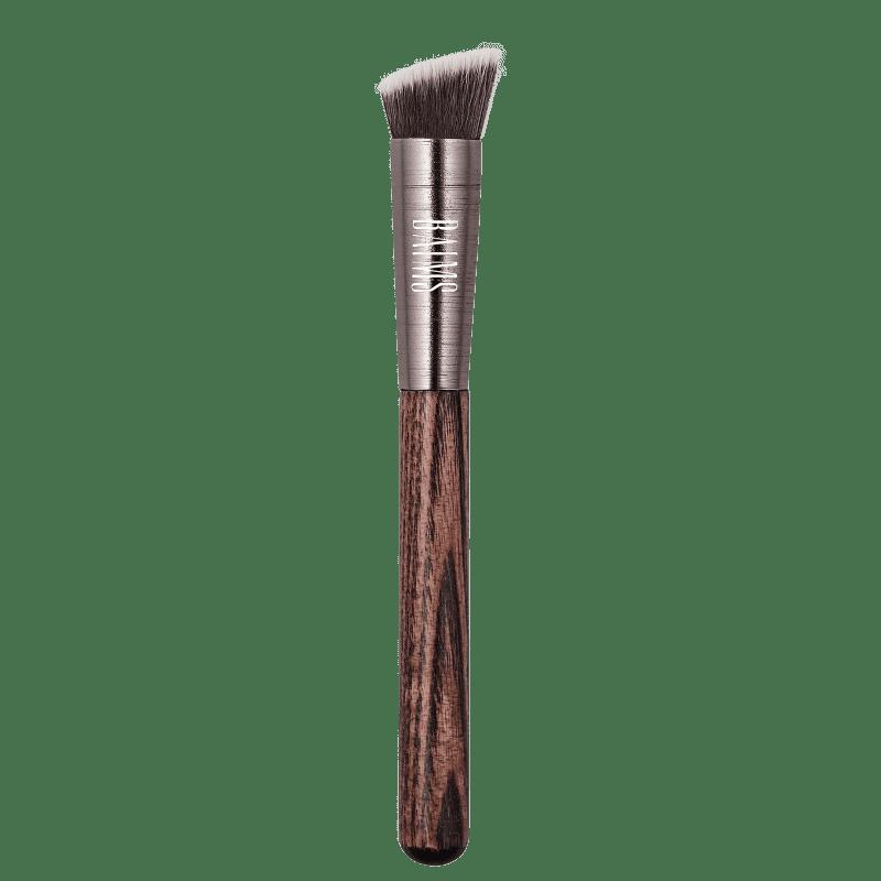 BAIMS Luxus Vegan Brushes 50 Mini Angled Kabuki - Pincel de Maquiagem