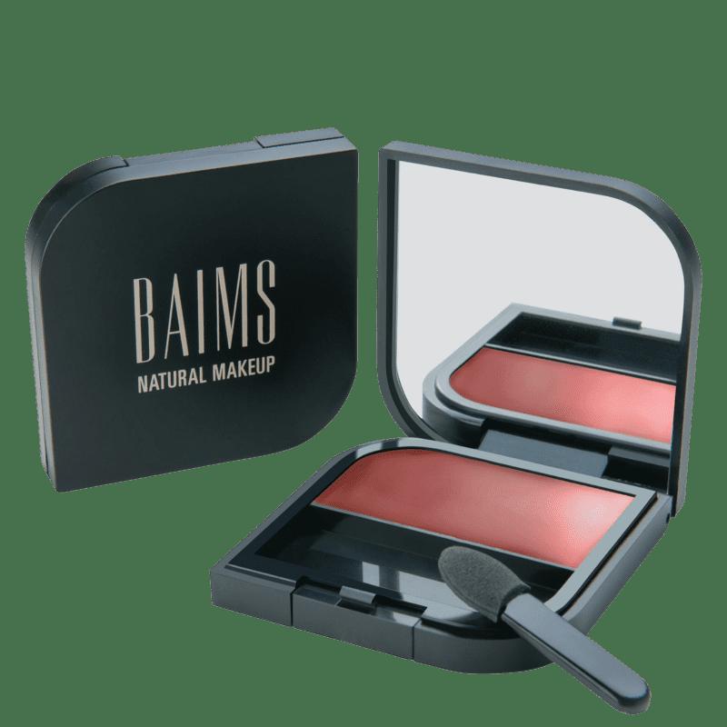 BAIMS Minimalist Cheeks + Lips + Eyes 20 Bloom - Blush, Sombra e Batom 3,5g