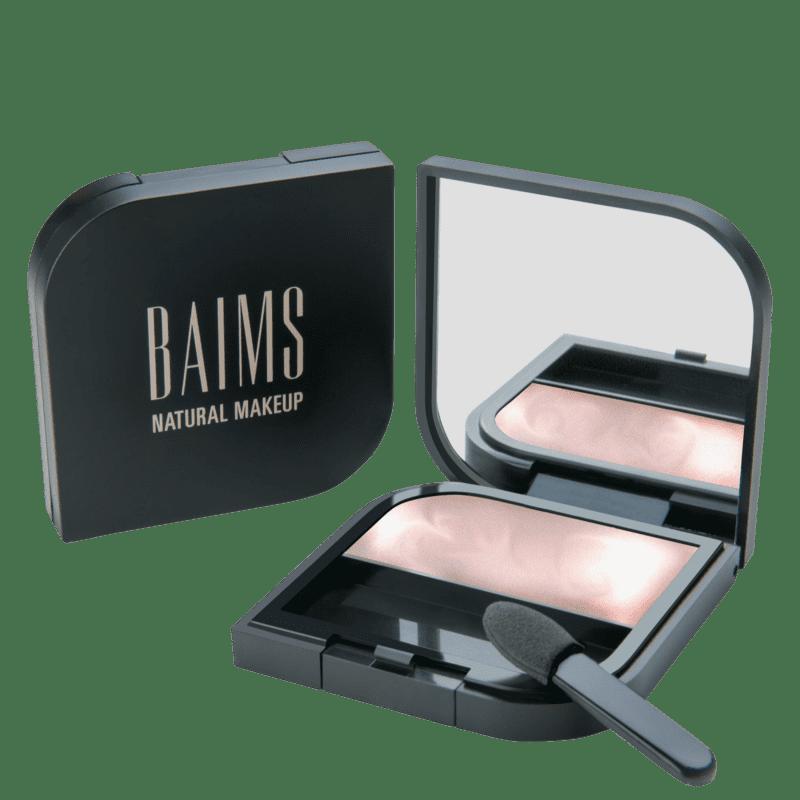 BAIMS Minimalist Cheeks + Lips + Eyes 30 Glow Me - Iluminador, Sombra e Batom 3,5g